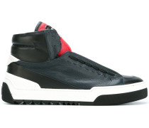 High-Top-Sneakers aus Leder - men