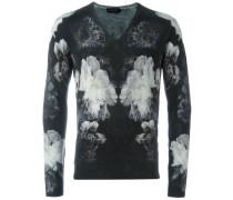 Pullover mit Blumen-Print