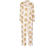 Eros Pyjama mit Herz-Print