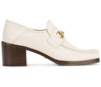 Loafer mit Horsebit-Schnalle - women - Leder