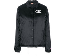 Hemdjacke mit Logo-Patch