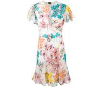 - Kleid mit Blumen-Print - women - Viskose - 40
