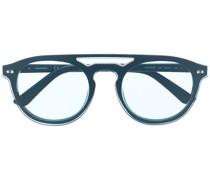 Runde CK19500S Sonnenbrille