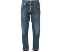 Emerson boyfriend cropped jeans