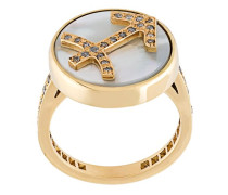 'Sagittarius Lucky Zodiac' ring