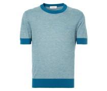 T-Shirt mit kontrastierenden Details