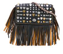 embellished Dinky crossbody bag - women - Leder