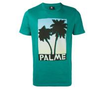 T-Shirt mit Palmen-Print - men - Baumwolle - XXL