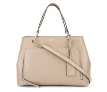 Handtasche mit Reißverschlusstasche