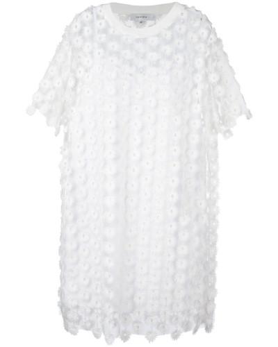 T-Shirt-Kleid mit Spitze