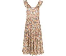 Malgosia floral-print midi dress