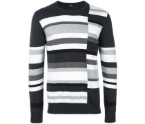 - Gestreiftes Sweatshirt - men - Baumwolle - L