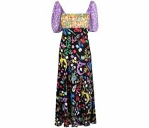 Kleid mit Meerjungfrauen-Print