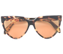 Halbrunde Sonnenbrille - women - Acetat/metal