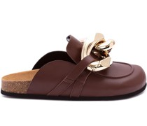 Klassische Schuhe mit Ketten