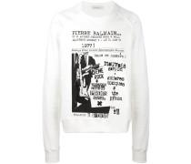 Sweatshirt mit Rockkonzert-Print