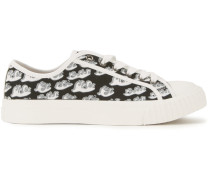 Sneakers mit Wellen-Print