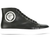 - High-Top-Sneakers mit Löwen-Applikation - women