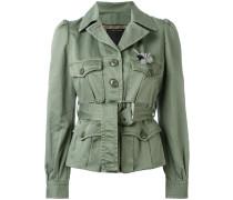 Military-Jacke mit Gürtel