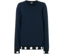 Sweatshirt mit Stern-Saum