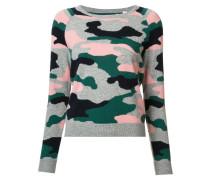 Pullover mit Camouflage-Print - women