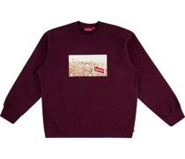 Sweatshirt mit Aerial-Print