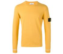 Pullover mit Logo-Patch - men - Baumwolle - L