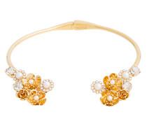 Verhgoldete 'Bella' Halskette mit offenem Design