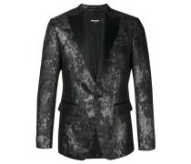 Smoking-Jacke mit grafischem Muster