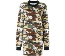 camouflage print dress