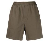 Gerade Shorts mit Stretchbund