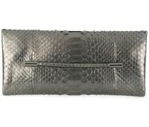 snakeskin effect clutch