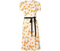 Seidenkleid mit Schmetterlings-Print - women