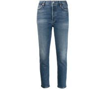 'Olivia' Cropped-Jeans