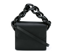 chain trim crossbody bag