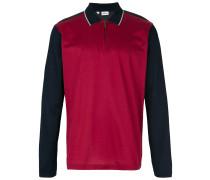 Poloshirt mit Colour-Block-Optik