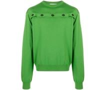 Pullover mit geknöpftem Cut-Out