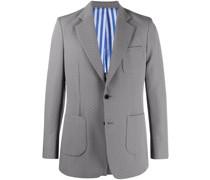 Einreihiger Anzug mit Polka Dots