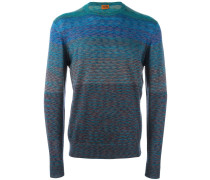 Wollpullover in Colour-Block-Optik