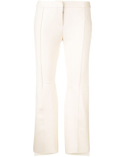 Asymmetrische Cropped-Hose