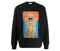 Sweatshirt mit Jimmy Hendrix-Print