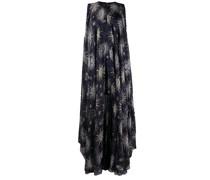 Ausgestelltes Kleid mit Sonnen-Print