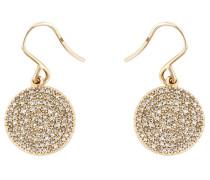 14kt 'Icon' Goldohrringe mit Diamanten
