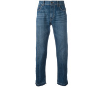 Ungesäumte Jeans