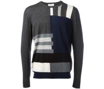 Pullover mit Streifenmuster - men - Schurwolle