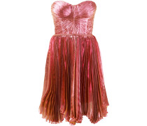 'Lolicactus' Bandeau-Kleid in Metallic-Optik