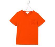 T-Shirt mit bestickter Brusttasche - kids