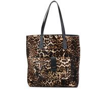 Shopper mit Leopardenmuster