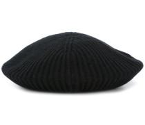 ribbed knit beret