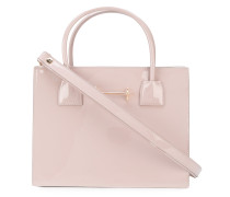 Kleine Handtasche mit Reißverschlusstasche